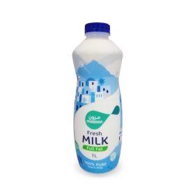 Mazoon Fresh Milk Full Fat 1 Ltr