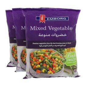 emborg, emborg peas & carrots, frozen peas and carrots, frozen mixed vegetables