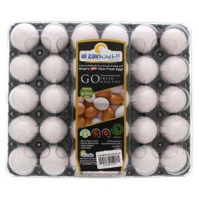 Al Zain Omani White Eggs Large 30 Pcs
