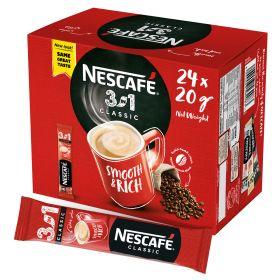 Nescafe 3 In1 Instant Coffee Mix Sachet 20g x 24 Pieces