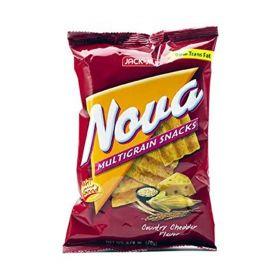 Jack N Jill Nova Multi Grain Snacks Country Cheddar Flavor 78 Gm