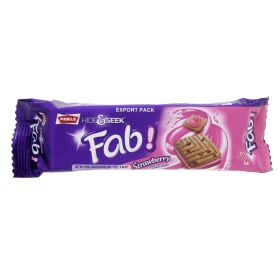 Parle Hide And Seek Fab Strawberry Biscuit 112g