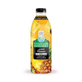 Almarai Farms Select Pineapple 100% Juice 1 Ltr