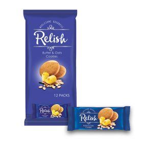 Relish Butter & Oats Cookies 12 x 42g
