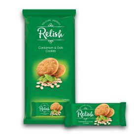 Relish Cardamom & Oats Cookies 12 x 42g