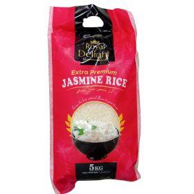 royal delight, royal delight extra premium jasmine rice, biryani rice, cooked rice, boiled rice, white rice