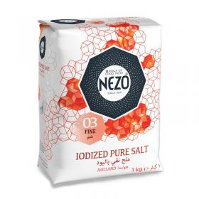 Nezo Iodized Pure Salt 1 kg