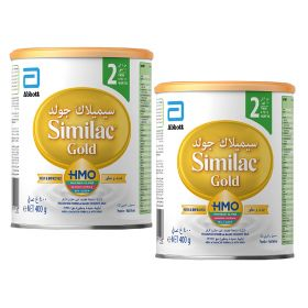 Similac Gold Milk Powder 2 X 400 Gm