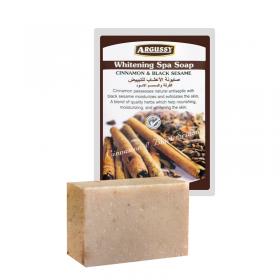 Argussy Spa Soap 100Gm Cinnamon And Black Sesame