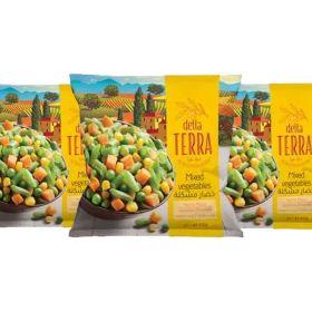 Delta Terra Mixed Vegetables 3 x 400 Gm