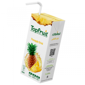 Top Fruit Juice Pineapple 250 ml x 24