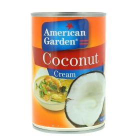 American Garden Coconut Cream 400Ml