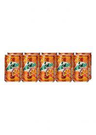 Mirinda Orange Carbonated Soft Drink Can 10 X 150Ml