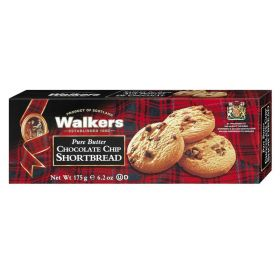 Walkers Pure Butter Chocolate Shortbread 125Gm