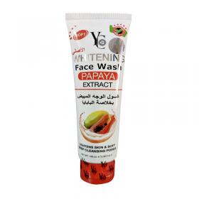 Yc Whitening Face Wash Papaya Extract 100Ml